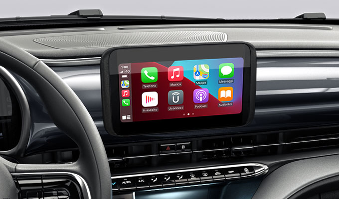 Radio 7'' touchscreen con Apple CarPlay TM  Android Auto TM wireless