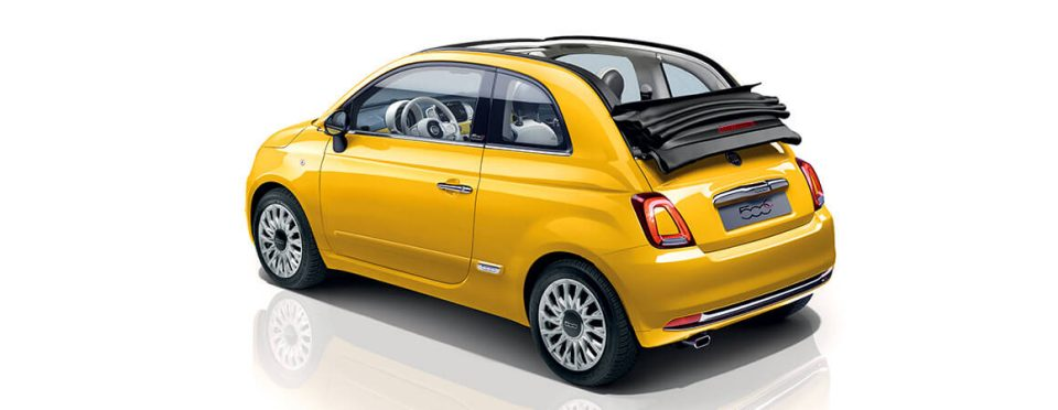 Fiat 500c Compact Convertible Car Fiat Uk