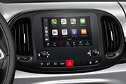 "Radio touch da 7"" con Apple CarPlay<sup>&trade;</sup>/AndroidAuto<sup>&trade;</sup>"